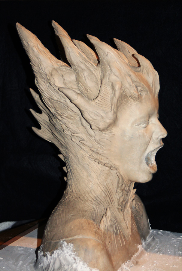 lifeform-clay-head-sculpt-creature